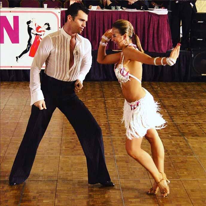 Tony Dovolani and Elena Grinenko