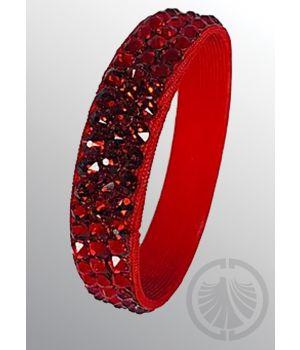3-Row Bracelet Siam Combo/Red