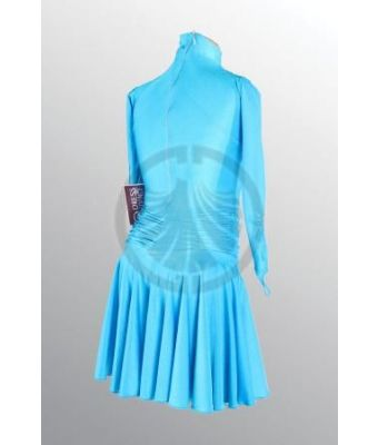Girl's Turquoise Dance Dress 30