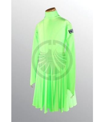 Girl's Neon Green Dress 34