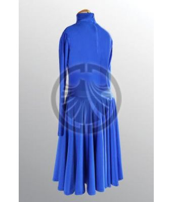Blue Dress with Turtleneck 40