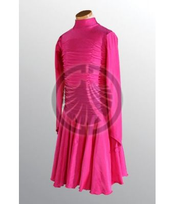 Pink Dress with Turtleneck 30