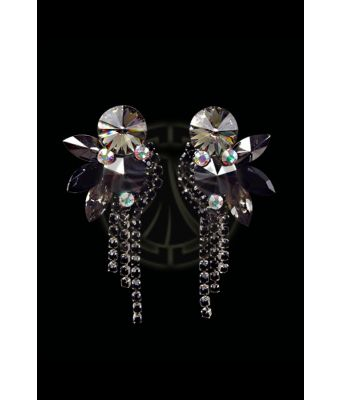 Rhinestone Earrings 204178 I9