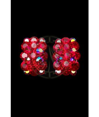 Rhinestone Earrings 204257 I9
