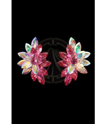 Rhinestone Earrings 2031 I9