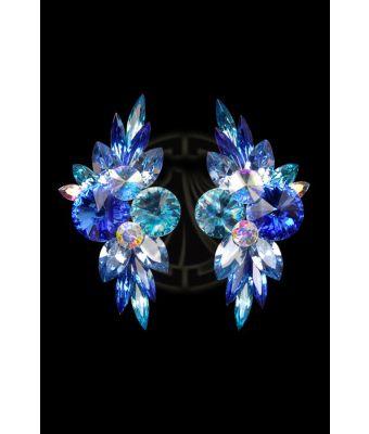 Rhinestone Earrings 204171 I9