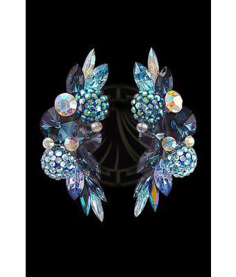 Rhinestone Earrings CH64 I9
