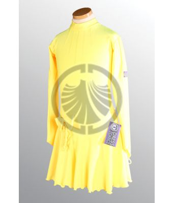 Yellow Dance Dress 34