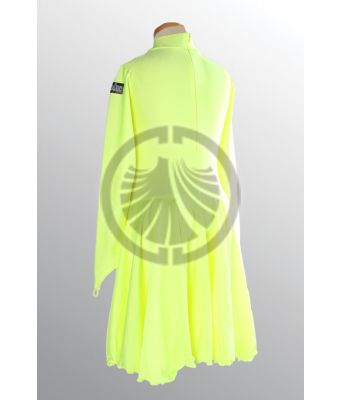 Girl's Yellow Dance Dress 34