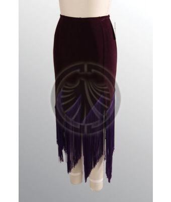 D4D Latin Fringe Skirt A59