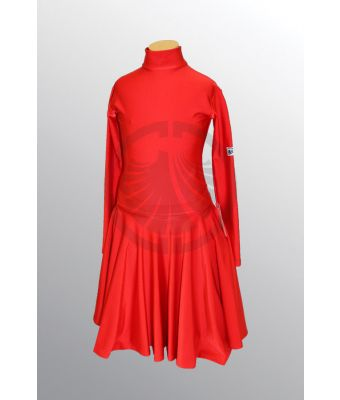 Girl's Red Dance Dress 32