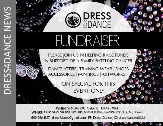 October Fundraiser at Dress4Dance